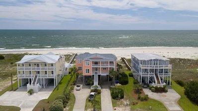 Photo for One of the Largest Homes on Oak Island with POOL,ELEVATOR,OCEANFRONT-Sleeps 28