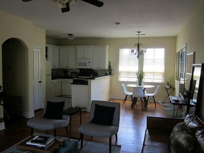 Kitchen/Dinning from Living room