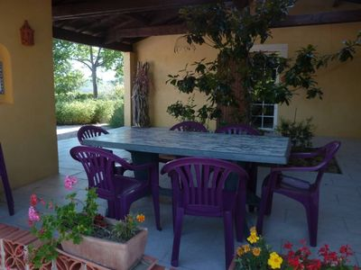 Photo for Beautiful new lodging in a flowery between the Cévennes and Camargue