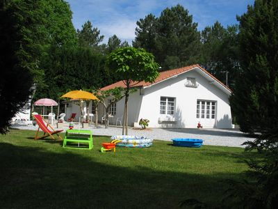 Photo for Beautiful comfortable house classified 3 * for family vacation or spa treatment