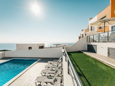 Photo for Villa Sunset Paradise 2 pool and breathtaking sea views