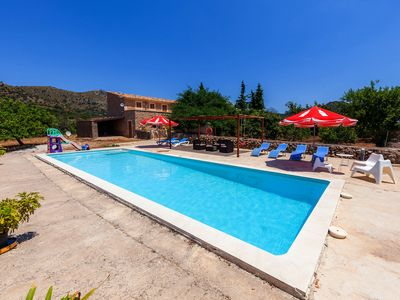 Photo for In an idyllic location with pool - Villa Can Rich