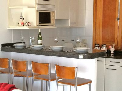 Photo for Two bedroom apartment ,free wifi  English speaking TV  channels, opposite  beach