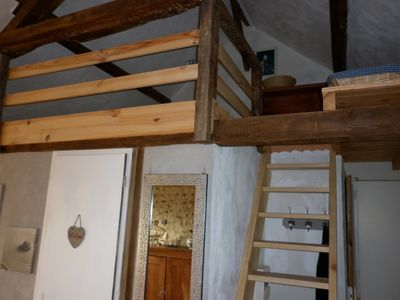 Photo for Charming studio with mezzanine in a restored barn