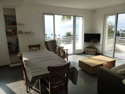 Photo for MAGNIFICENT APARTMENT RENOVATED CANNES, 52m2,100 M FROM THE BEACH, CLIM, PARKING,