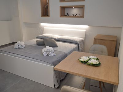 Photo for Modern Apartment Appt. To 3 with Wi-Fi & SmartTV; Parking Available