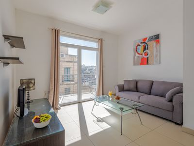 Photo for SAINT JULIAN'S 2BR FLAT WITH BALCONIES BY SPINOLA BAY