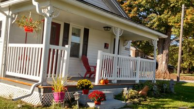 Photo for 3BR Farmhouse Vacation Rental in Livonia, New York