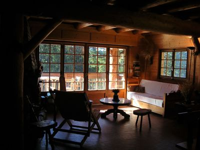 Photo for Authentic Savoyard chalet in a small tourist meadow