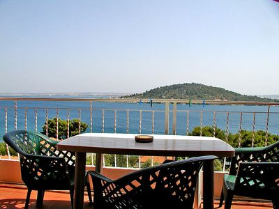 Photo for Apartment 569 m from the center of Preko with Internet, Pool, Air conditioning, Parking (113763)