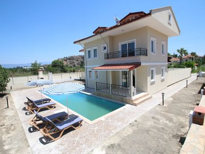 Photo for Happy Life Dalyan Gurpinar Twin Villa. With private pool