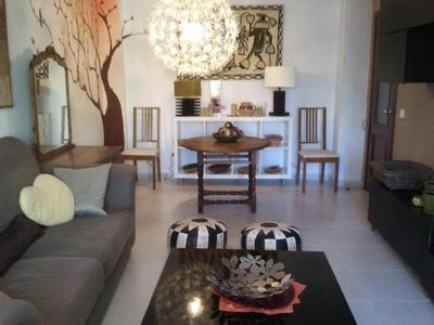 Photo for Malaga: Large apartment in quiet area near beach
