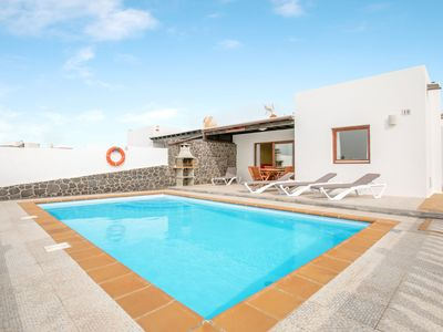 Photo for Villa Daniamand 1B with Mountain View, Wi-Fi, Garden, Terrace & Pool; Parking Available, Pets Allowed