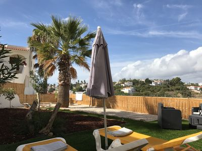 Photo for Apartment 100m ² with private garden south of portugal 5min walk from the beach