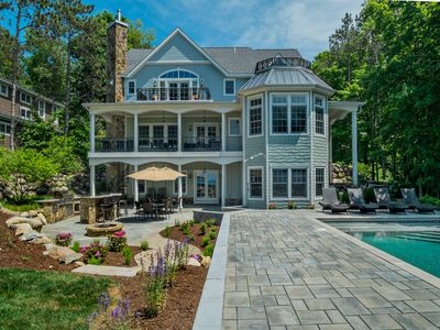 Photo for A 7000 Square Foot Luxury Lake Michigan Beach House Fall Special/Booking 2019