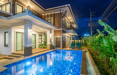 Photo for Baan Ari, Luxury 3-Bedroom Pool Villa