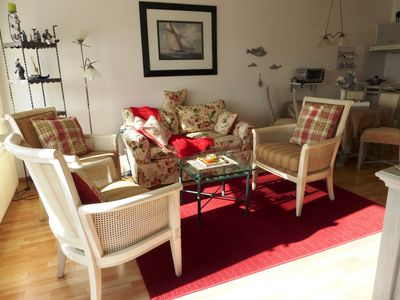 Photo for Apartment 'Dunerose': central, directly at dune, beach & sea