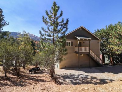 Photo for Casablanca: Panoramic Views! Hot Tub!  Fireplace! BBQ! Multiple Decks! Cable TV!