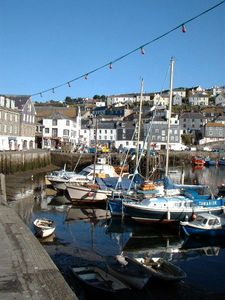 Photo for Seaview cottage overlooking harbour with garden & parking. Family & pet friendly