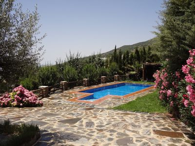 Photo for VILLA WITH JACUZZI, POOL AND PRIVATE GARDEN IN LA ALPUJARRA