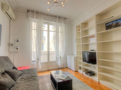 Photo for Apartment Palais Clémenceau in Nice - 4 persons, 1 bedrooms