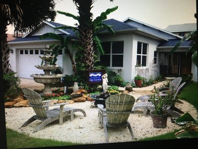 Photo for SEASIDE RETREAT - Steps to the Beach - Your Tropical Paradise!