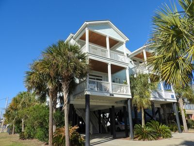 Photo for Cool Breeze: 5  BR, 5.5  BA Duplex in Garden City Beach, Sleeps 16