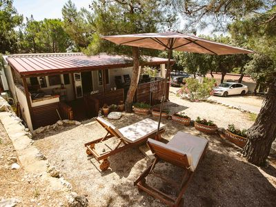 Photo for 4 Luxurious Mobile Home - Camping Simuni, Pag, Croatia