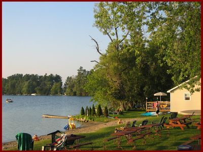 Photo for Oak Lake Oriel Cottage.  Great for friends and family across from Beach.