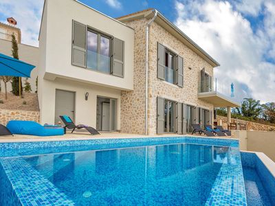 Photo for Villa Soleil with stunning sea views