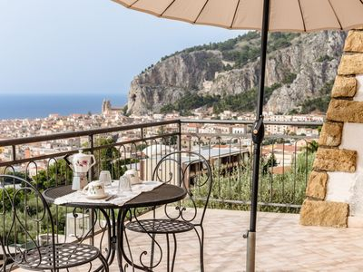 Photo for Charming Terrace on the Gulf of Cefalù by Wonderful Italy