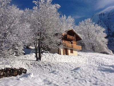 comfortable family chalet, short drive to ski area