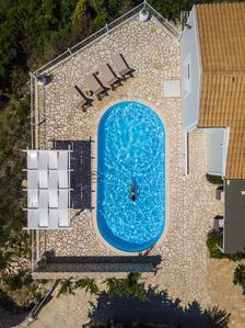 Photo for A lovely  villa set in an enviable position with stunning sea views