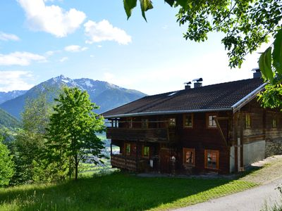 Photo for Rustic mountain hut near Kitzbühel Alps in a sunny location with stunning views