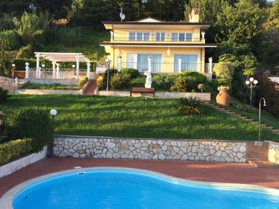 Photo for Villa in Corsanico with 3 bedrooms sleeps 8