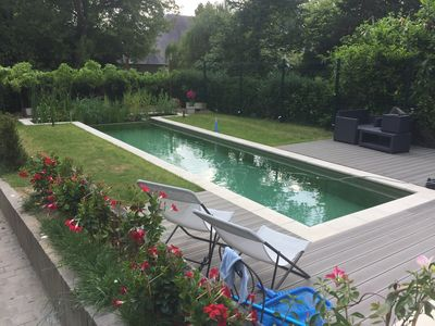 Photo for Studio with private pool 5km from BXL idyllic setting!
