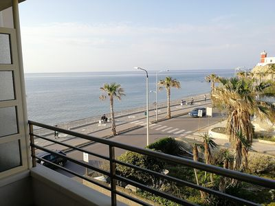Photo for Two-room apartment in the center with sea view terrace