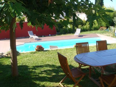 Photo for Magnificent villa with swimming pool between Montpellier and SETE 15mn from the beaches