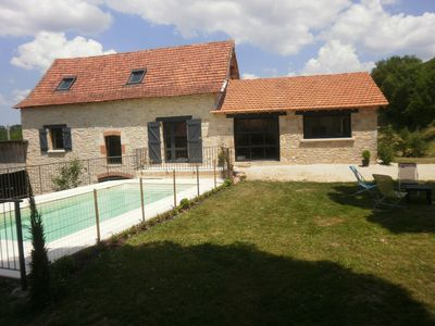 Photo for The barn of Mas de Pérou with private pool