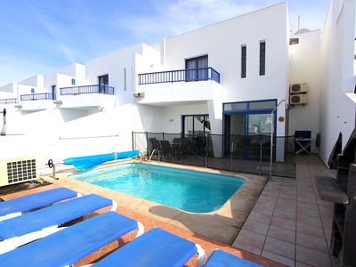 Photo for Luxurious Air Conditioned Villa 2 min walk from Marina With Private Pool, Wi Fi.