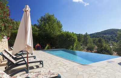 Photo for Charming house, with pool, barbecue, 5 minutes walking to San Jose village and 7 km to the nearest