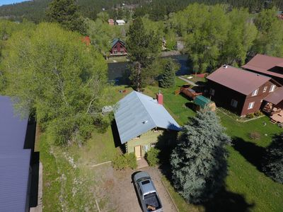 Photo for River Lodge: 3 BR / 2 BA house/cabin in Pagosa Springs, Sleeps 6