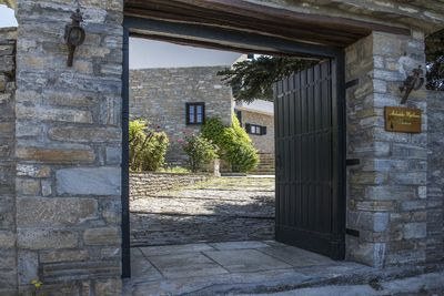Main entrance to the property!