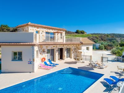 Photo for Villa Christel: Large Private Pool, A/C, WiFi, Eco-Friendly