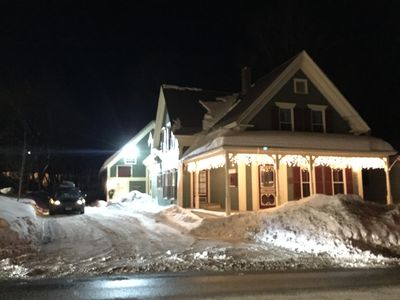 Photo for Victorian Village Home Walking Distance to Town. Okemo Shuttle at Front Door!!