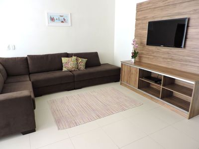 Photo for Wonderful Apt of 3 bedrooms with air conditioning, barbecue and swimming pool.