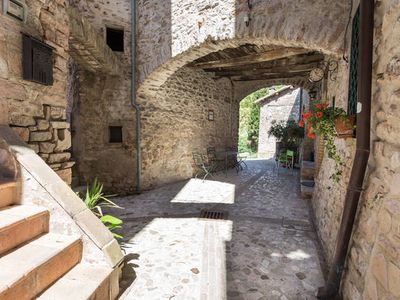 Photo for stone house in a small medieval tower near SPOLETO