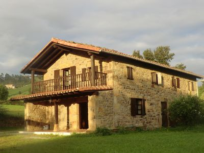 Photo for Pasiega cabin to enjoy the green and infinite Cantabria