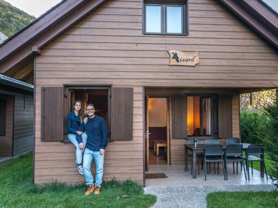 Photo for Cabin or bungalow Camping Verneda for 8 people
