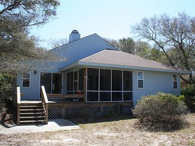 Photo for 9th Tee: 2 Bed/2 Bath Home Overlooking the 9th Tee of the Oak Island Golf Course